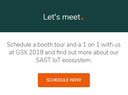 Schedule a meeting with us at GSX