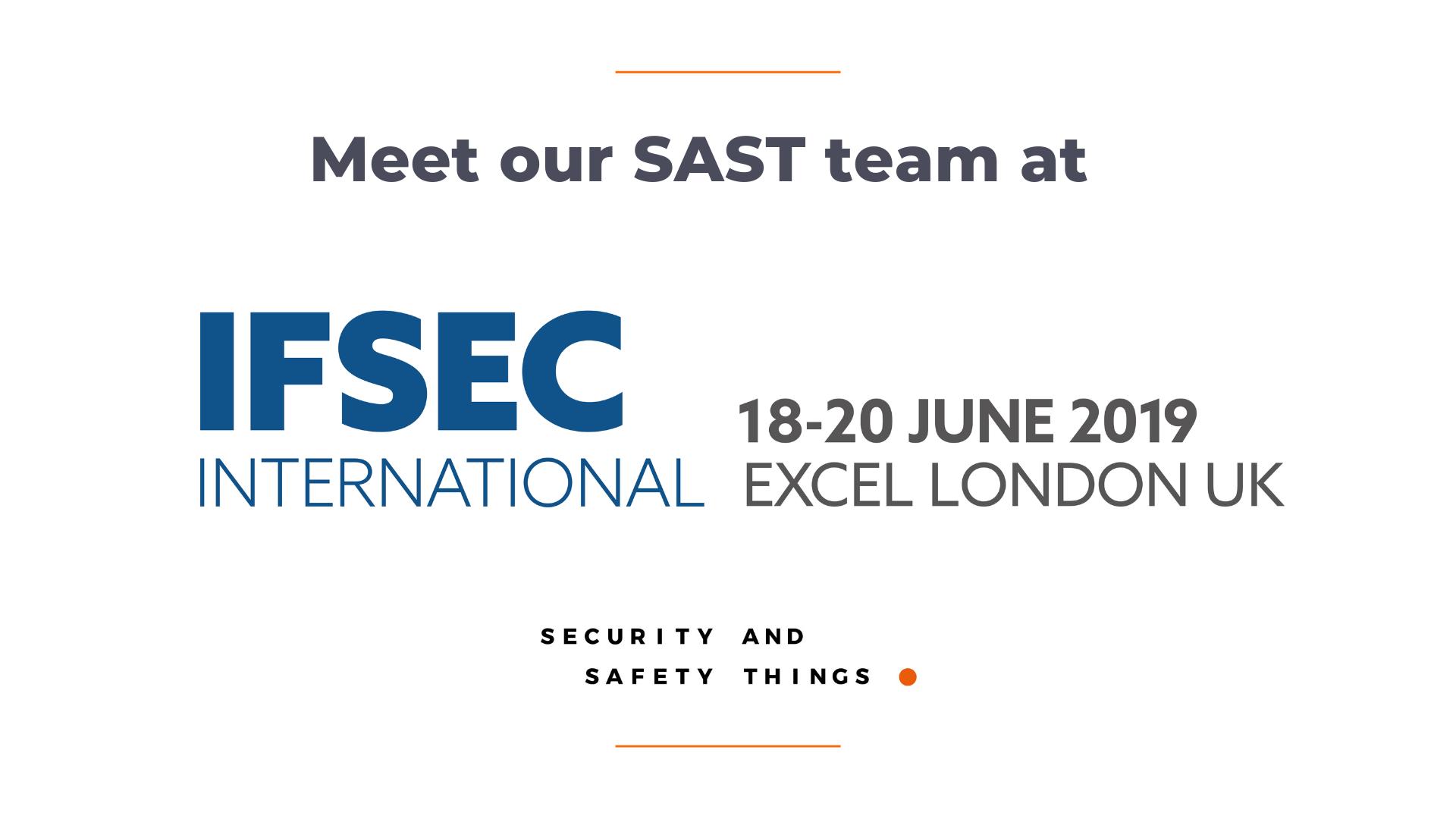 IFSEC 2019