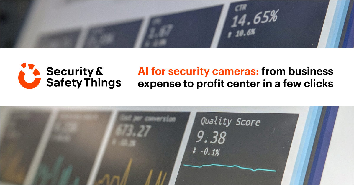 turning smart video solutions into profit centers