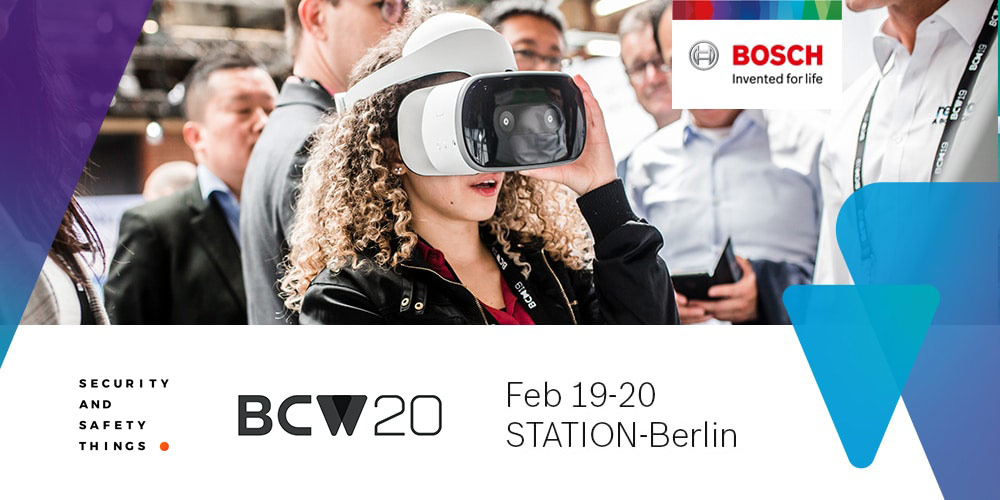 Meet us at Bosch ConnectedWorld 2020 - IoT conference & hackathon