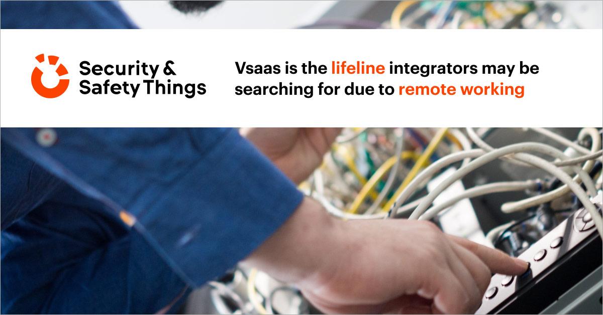 vsaas lifeline integrators remote work