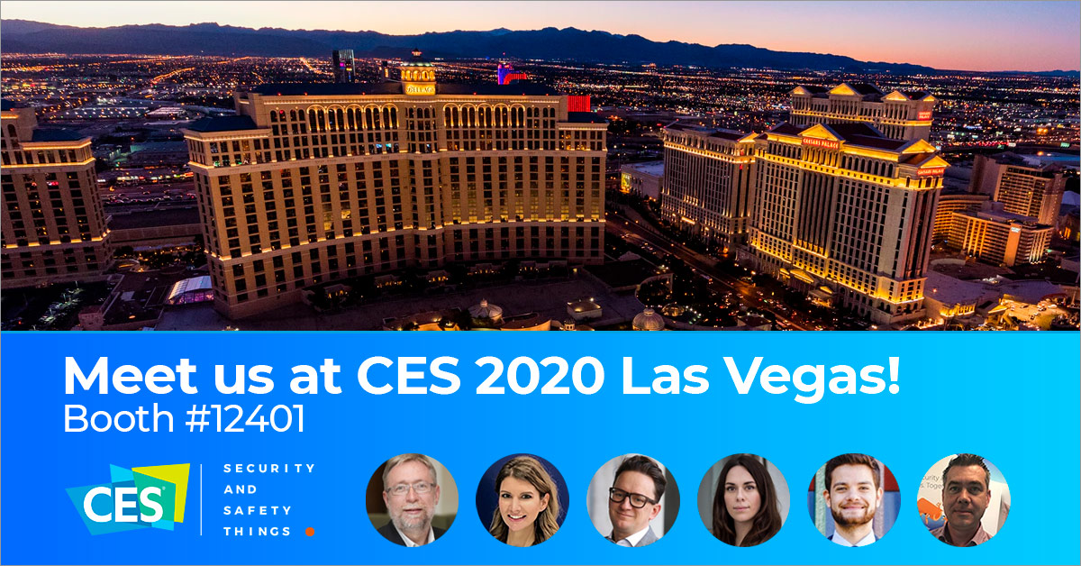 Meet us at CES 2020 Las Vegas! Booth #12401!