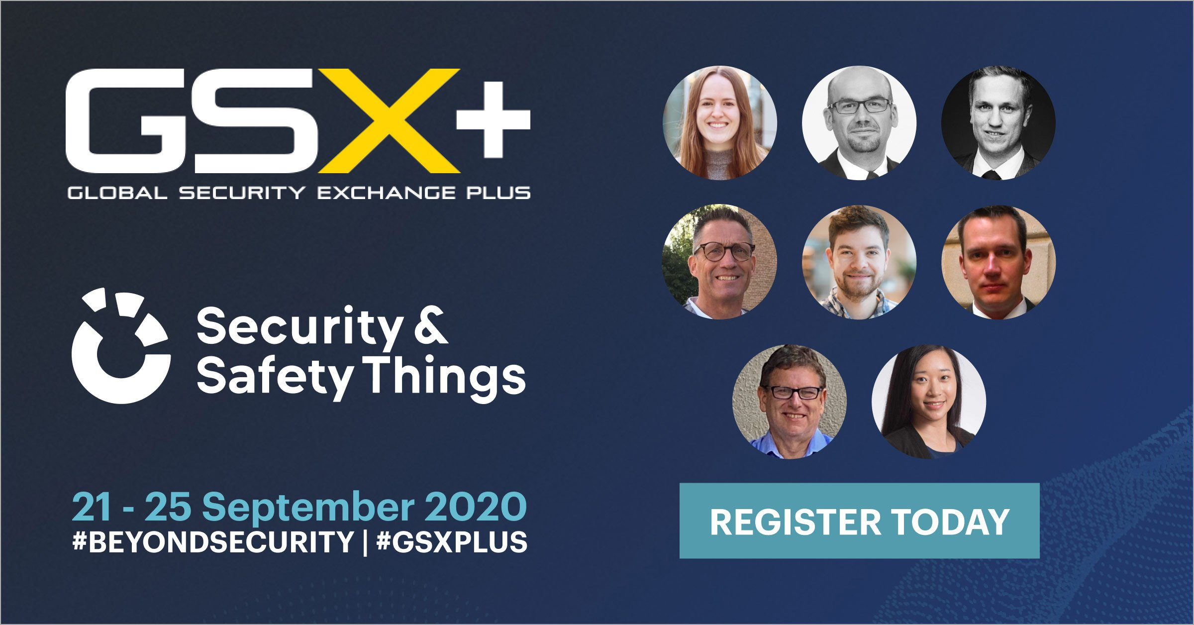 meet the security & safety things team at GSX 2020