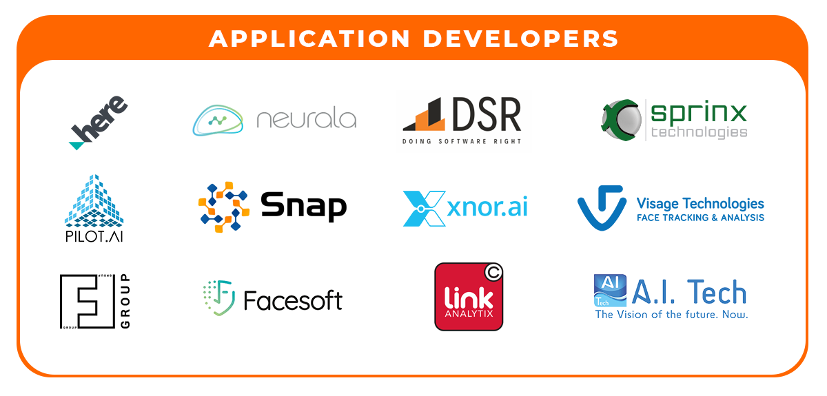 application developers info