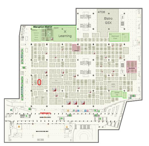 A map of GSX