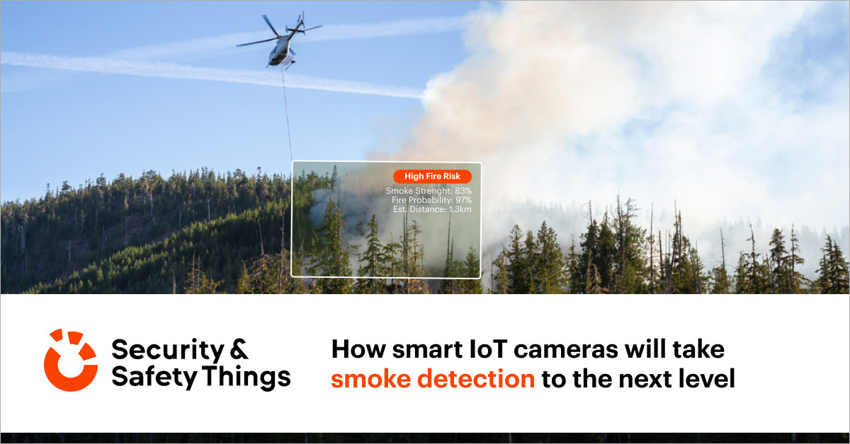 smart cameras smoke detection
